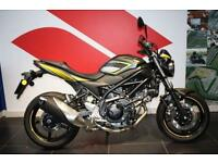 2016 66 SUZUKI SV650 BLACK / YELLOW, BRAND NEW, PRE REGISTERED 66 PLATE