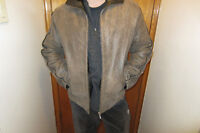 NEW ITALIAN MEN'S LEATHER JACKET (L/G) FOR AUTUMN.514-996-9207