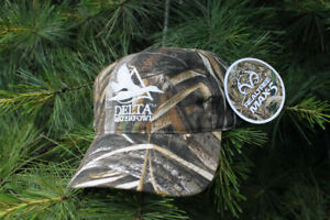 Genuine REALTREE MAX-5 DELTA WATERFOWL Camo Ball Hat
