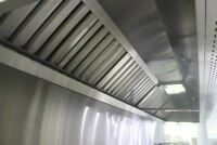 Cleaning of commercial kitchen hoods - AIR FORCE NETTOYAGE INC
