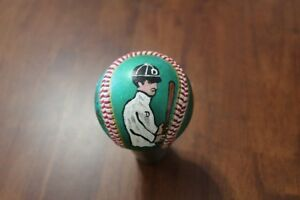Ty Cobb hand painted baseball by Artist