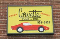 Magasin de vente de pièces de corvette