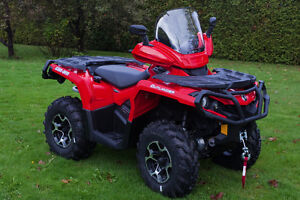 Can-am OUTLANDER Windshield Fairings at ATV TIRE RACK Canada