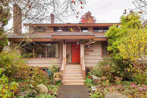 $3300(ORCA_REF#6615B)9 month term unfurnished KERRISDALE HOUSE!