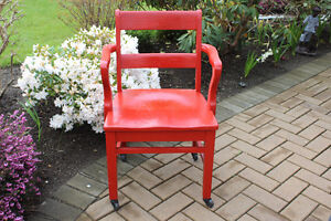 Fire Engine Red Office Chair