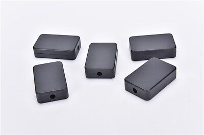 5pcs Electric Plastic Black Waterproof Case Project Junction Box 482615mm Sm