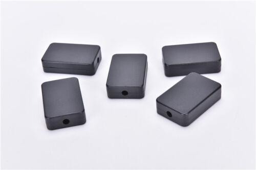 5pcs Electric Plastic Black Waterproof Case Project Junction Box 48*26*15mm SM