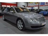 2006 56 BENTLEY CONTINENTAL FLYING SPUR 6.0 FLYING SPUR 5 SEATS 4D AUTO 550 BHP