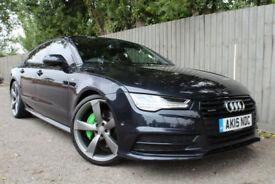 2015 Audi A7 3.0 BiTDi Sportback quattro Black Edition 320 BHP 52.3 MPG FINANCE