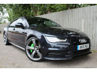 2015 Audi A7 3.0 BiTDi Sportback quattro Black Edition 320 BHP 52.3 MPG FINANCE