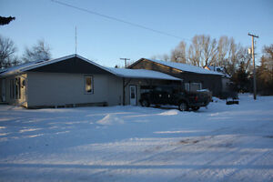 Family Home with large heated shop in Govan, sk
