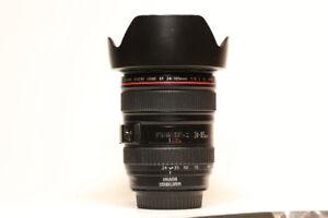 Canon Lenses - 24-105mm F4, 17-40mm F4