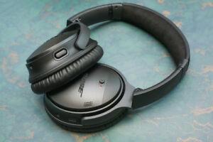 Bose QuietComfort 35 Active NoiseCancelling Bluetooth Headphones