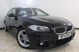2014 14 BMW 5 SERIES 3.0 530D M SPORT 4DR AUTO 255 BHP DIESEL