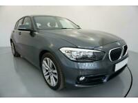 2016 GREY BMW 118i 1.5 SPORT PETROL MANUAL 5DR HATCH CAR FINANCE FR £209 PCM