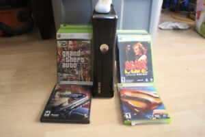 Xbox 360 Console and 16 Games