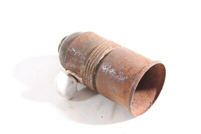 Old Lamp Socket E27 Socket Lamp Old Vintage with Rotary Switch Turn-Switch