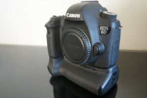 Canon 6D et batteries grip