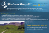 Words and Waves - Woody Point Aug 22-24