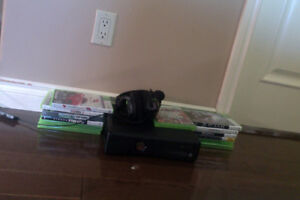 Xbox 360 with 14 games/controller and headset