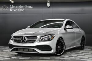 2018 Mercedes Benz CLA250 4MATIC Coupe