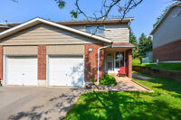 $224,900 with Garage & Finished Rec Room-Private Back Yard!