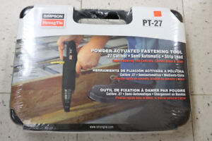 **POWER ACTUATED** Strong-Tie Model PT-27 Fastening Tool - 16845
