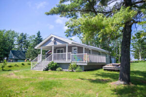 OWN THIS FULLY RENOVATED, WATERFRONT COTTAGE!