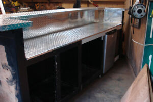 Unfinished wet bar...needs a handy man to finish it