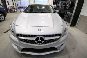 CLA 250 AWD loaded AMG package Mercedes-Benz warranty 2020