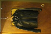 Boys Roots Leather jacket size 12/14