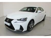 2017 Lexus IS 2.5 300H F SPORT 4d 179 BHP-£10 ROAD TAX-HEATED RED LEATHER-