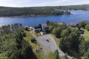 Rare, Very Private Waterfront (Sandy Beach) Property Halifax, NS