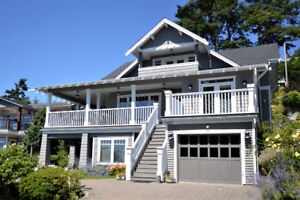 Beautiful Ocean View Home in Sunny White Rock