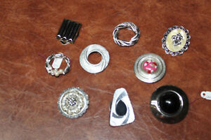 Large collection of Vintage scarf clips Kingston Kingston Area image 7