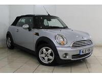 2010 10 MINI CONVERTIBLE 1.6 ONE 2DR 98 BHP