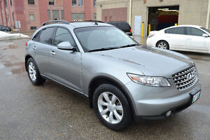 Infinity FX35 *AWD *sunroof l leather I Heated seats and mirrors