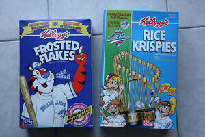 Toronto Blue Jays World Series Cereal Boxes
