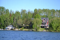 Executive Estate Home on Longbow Lake -  Summer Vacation Rental