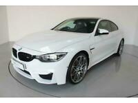 2018 BMW M4 3.0 M4 COMPETITION 2d AUTO-LOW MILEAGE EXAMPLE-RUNNING IN SERVICE CO