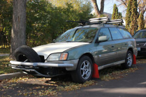 2003 H6 Subaru Outback Adventure Ready! Comes with Racks!