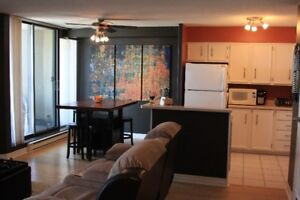 Downtown one bedroom condo for rent