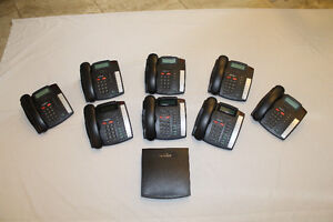 Talkswitch Telephone System with 8 Handsets