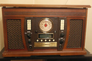 stereo with turntable