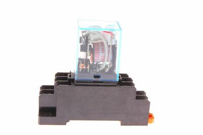 AC220V Coil Power Relay 10A DPDT LY2NJ HH62P-L JQX-13F-2Z + PTF08A Socket Base