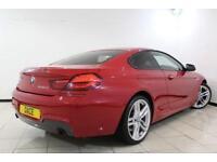 2014 14 BMW 6 SERIES 3.0 640D M SPORT 2DR AUTOMATIC 309 BHP DIESEL