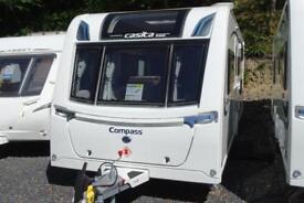 2018 Compass Casita 586 6 berth caravan single axle