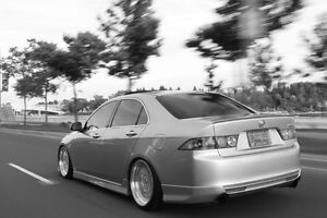 """OEM Euro R front lip and fogs / 18"""" ESM BBS RS Replica"""