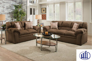 Brand NEW Ventura Chocolate Sofa & Loveseat! Call 613-389-6664!
