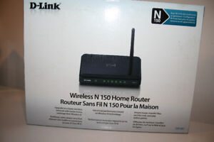 D-Link Wireless N 150 Router- BRAND NEW